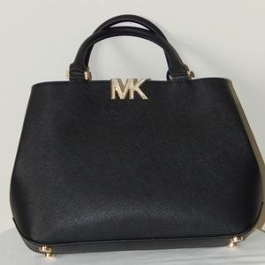 MICHAEL KORS FLORENCE SAFFIANO LEATHER MD HANDBAG